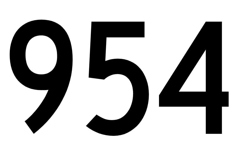 El número angelical 954