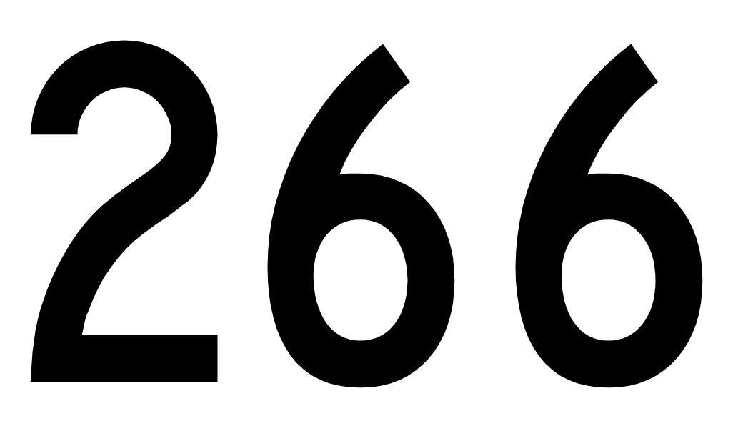 El número angelical 266