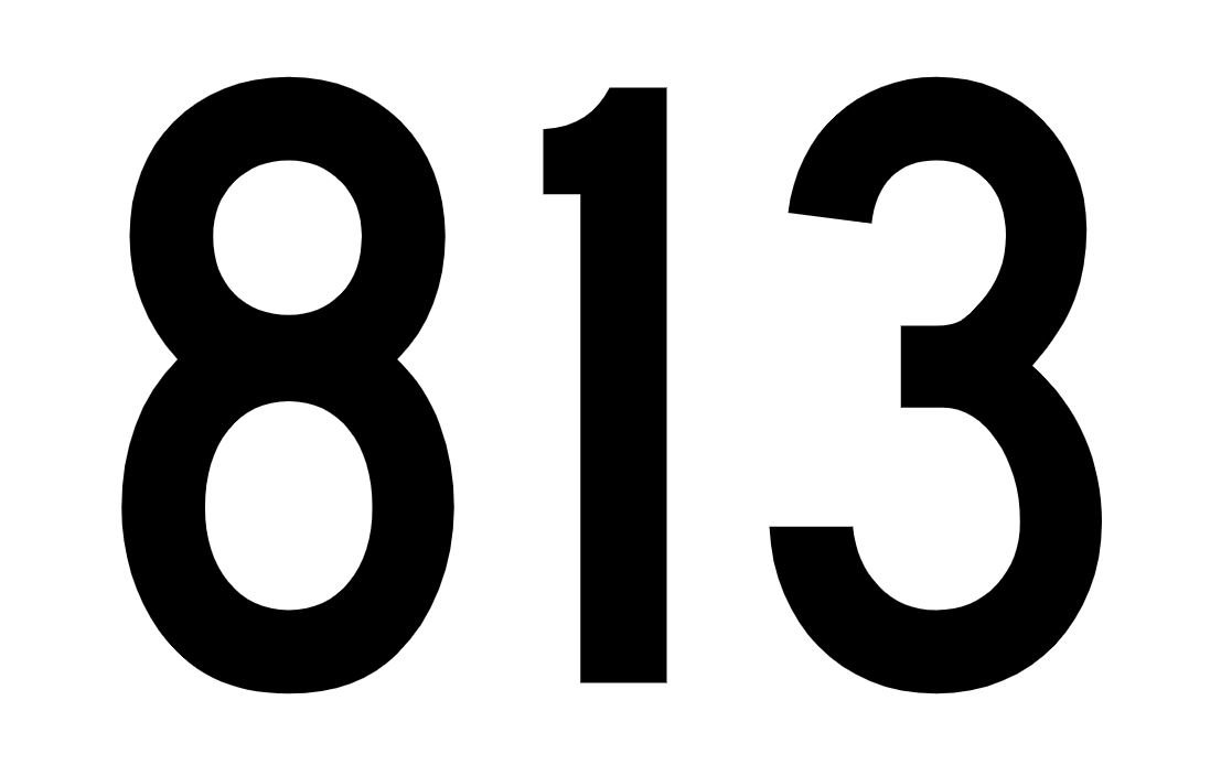 El número angelical 813