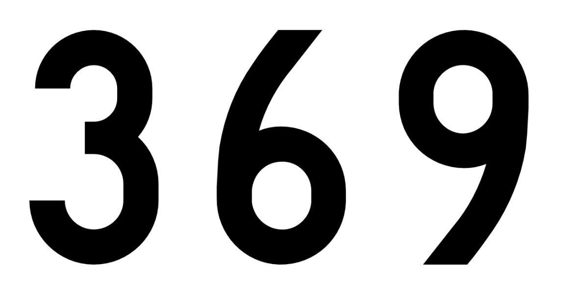 El número angelical 369