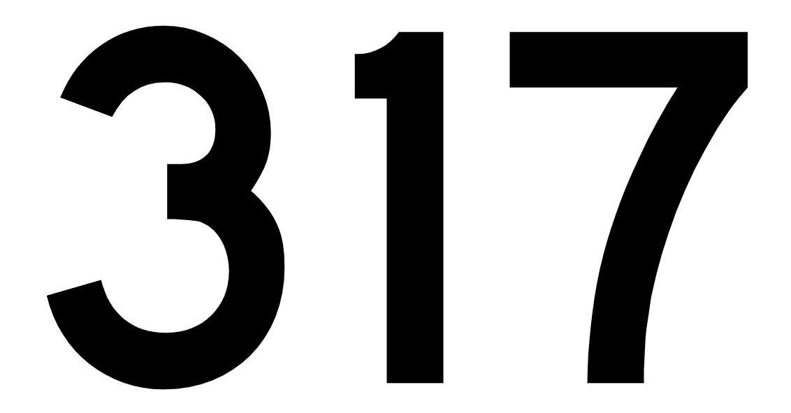 El número angelical 317