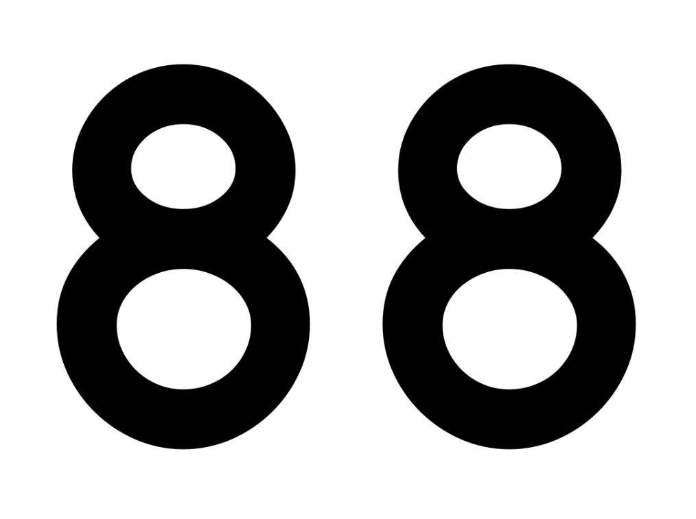 El número angelical 88