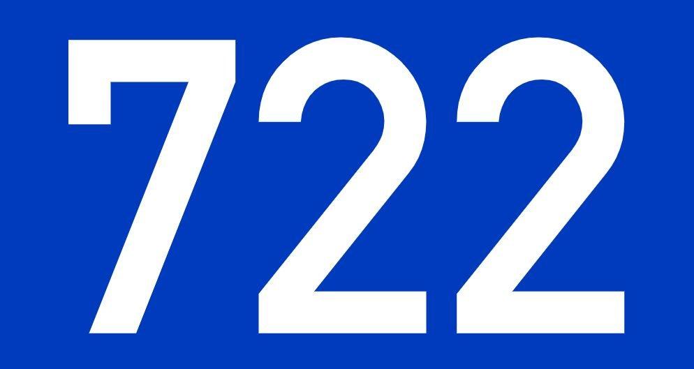 El número angelical 722