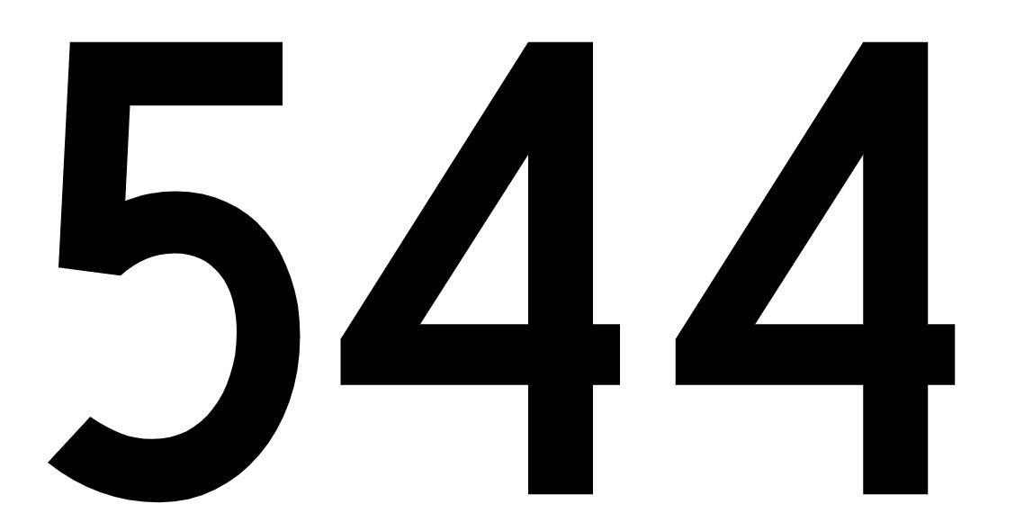 El número angelical 544