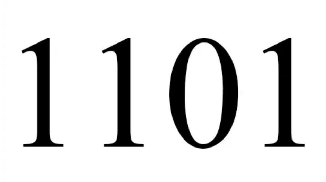 El número angelical 1101