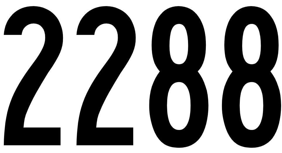 El número angelical 2288
