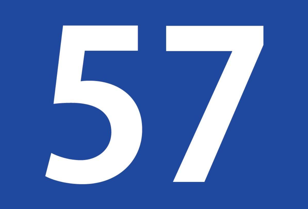 El número angelical 57