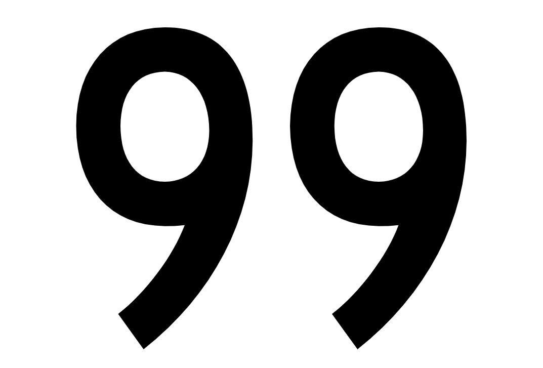 El número angelical 99