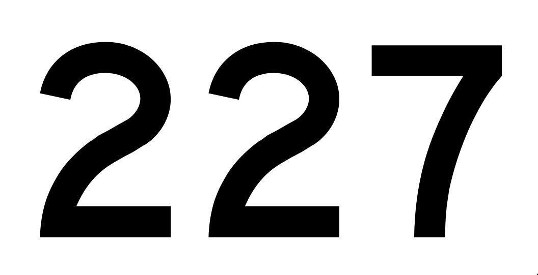 El número angelical 227