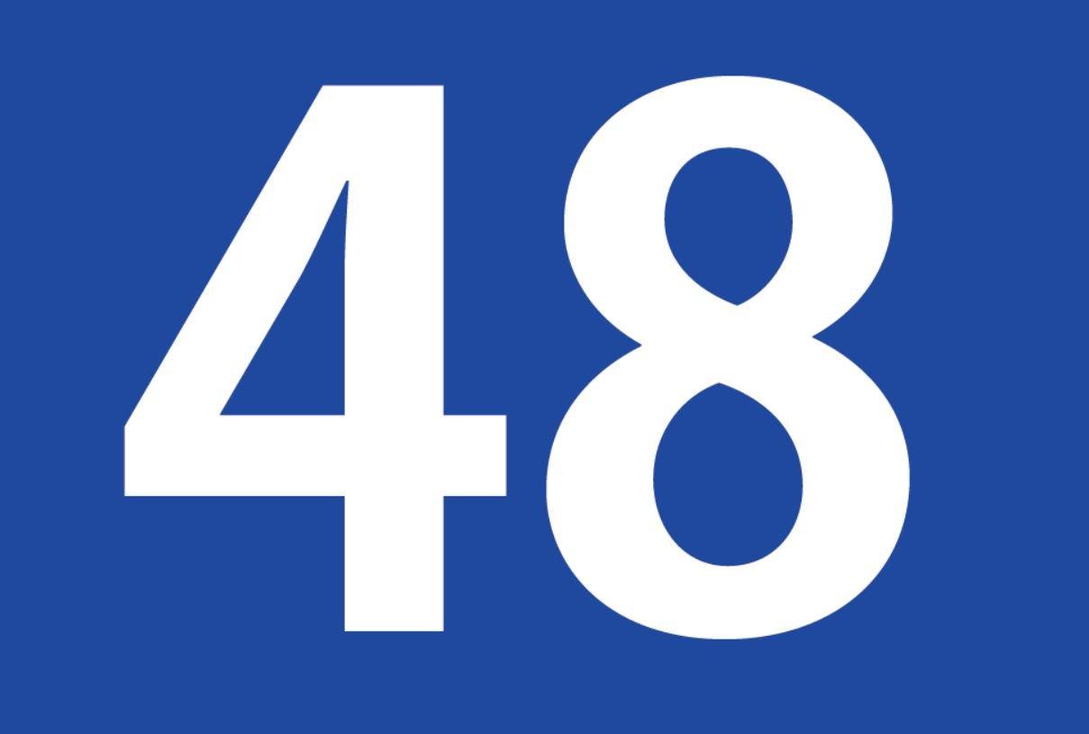 El número angelical 48