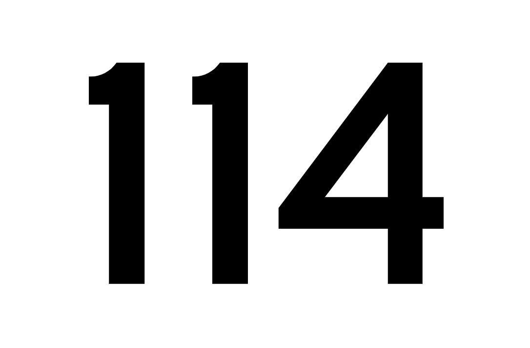 El número angelical 114
