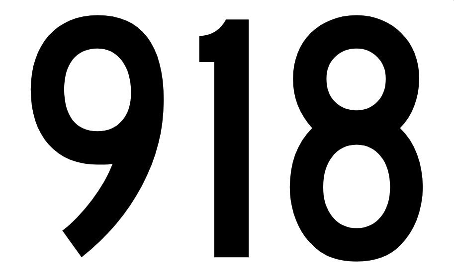 El número angelical 918