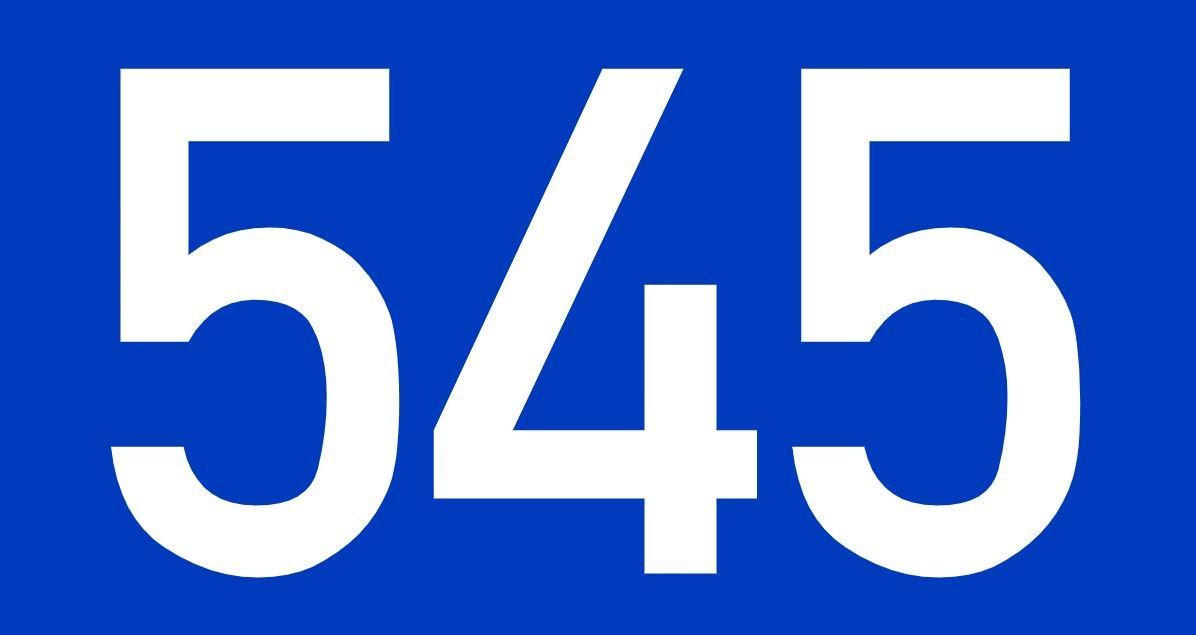 El número angelical 545