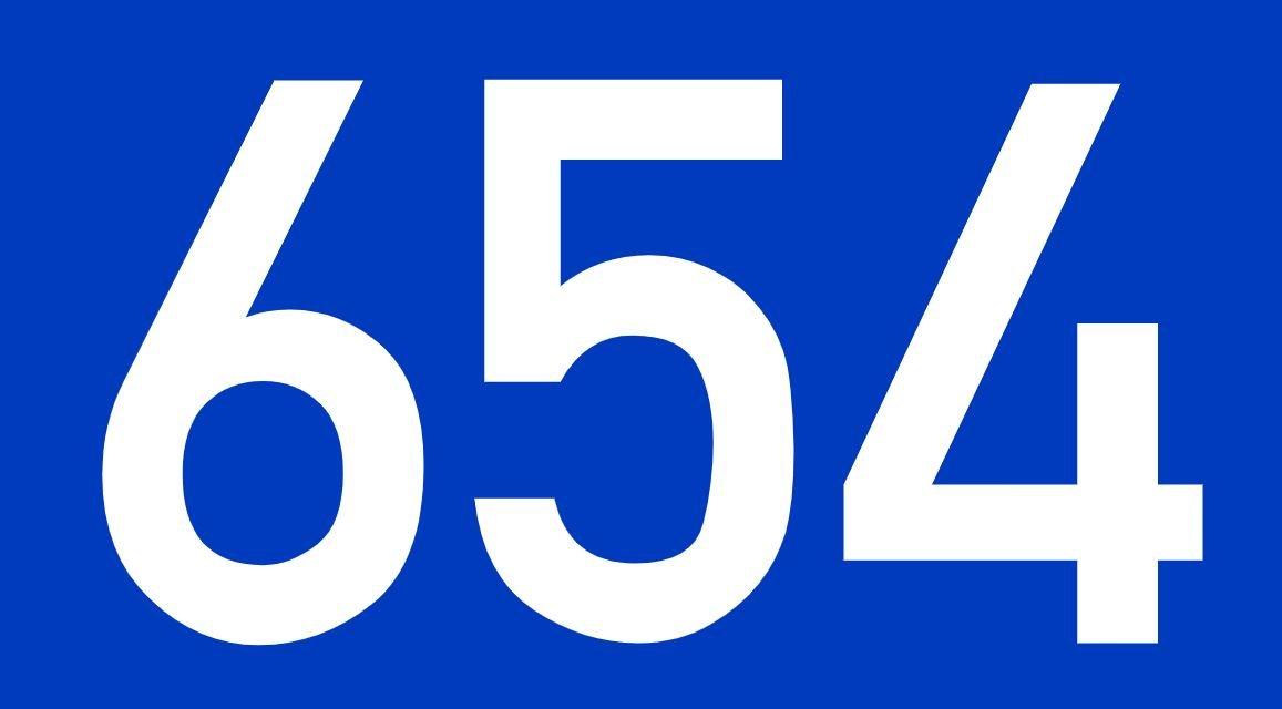 El número angelical 654