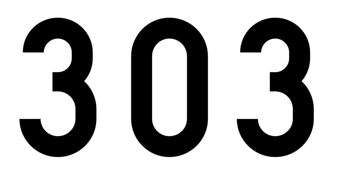 El número angelical 303