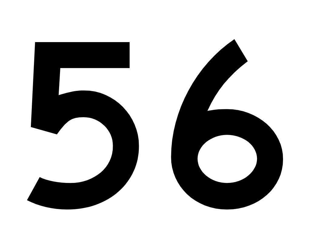 El número angelical 56
