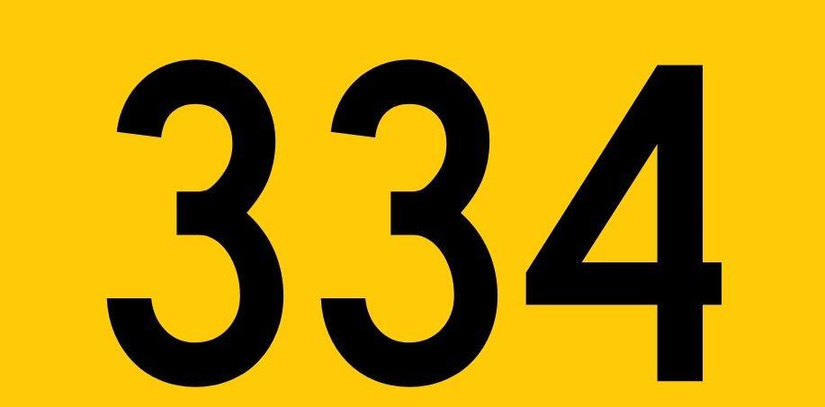 El número angelical 334