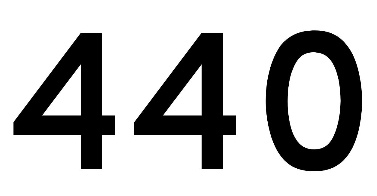 El número angelical 440