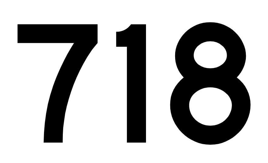 El número angelical 718